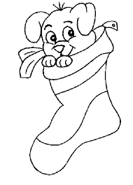 christmas stocking coloring pages 100 christmas puppy coloring pictures pet dog coloring