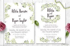 printable wedding invitation olive wedding invitation suite amistyle digital