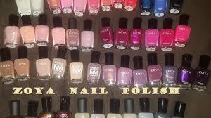zoya nail polish haul u0026 some swatches beautify your life youtube