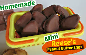 peanut butter eggs for easter mini reese s peanut butter eggs gringalicious