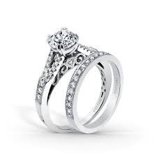 filigree wedding band stella split shank filigree and milgrain edging engagement ring