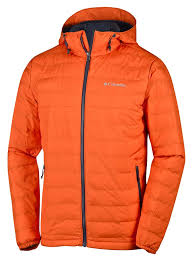 columbia ultra light down jacket columbia powder lite hooded jackets insulated orange men s clothing