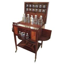 19th C French Art Deco Drinks Cabinet By Maison Boin Taburet For