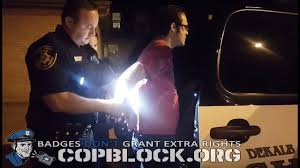 copblocker ryan scott arrested on fabricated obstruction charges