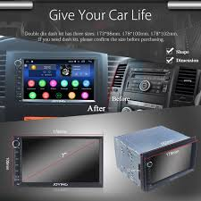 amazon com joying 7 car stereo 2gb 32gb android 6 0 head unit