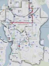 Washington County Tax Map by Bellevue Area Map Schedules U0026 Maps King County Metro Transit