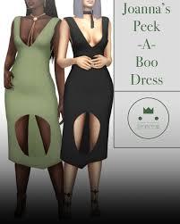 joanna u0027s peek a boo dress simplyking