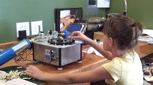 hailei annealing brass with a bench source annealing machine youtube
