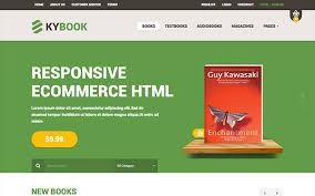 templates for bookshop kybook responsive bookstore theme wrapbootstrap