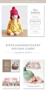 9 birth announcement holiday card ideas pregnant chicken