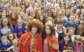 hair conventions 2015 2000 gingers get together for freaky red head convention