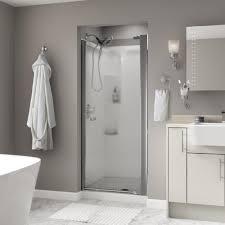 Shower Door Magnetic Seal by Vigo Monteray 48 125 In X 79 25 In Frameless Pivot Shower Door