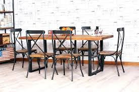 wrought iron dining table set iron dining table and chairs theory charcoal and iron dining table
