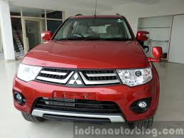 mitsubishi pajero sport mitsubishi pajero sport facelift introduced in india with at