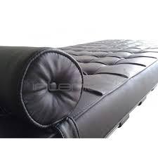 Barcelona Chaise Lounge Barcelona Day Bed Mies Van Der Rohe Premium Black Interior