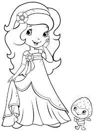 Strawberry Shortcake Halloween Coloring Pages by Top Free Printable Strawberry Shortcake Coloring Pages 11029