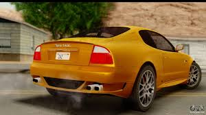orange maserati maserati gransport 2006 for gta san andreas