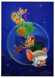 pinky and the brain cartoonatics pinky and the brain christmas card