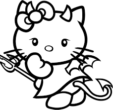 hello kitty halloween on pinterest hello kitty coloring pages 1737