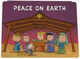 Peanuts Outdoor Christmas Decorations Peanuts Gang Nativity Wall Decor Snoopn4pnuts Com Christmas