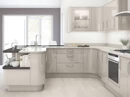cuisine en l pas cher cuisine en u beige et marron inside cuisine équipée en u coin de