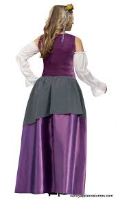 deluxe plus size renaissance tavern wench costume candy apple