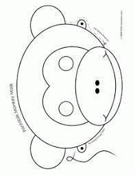 printable animal activities printable animal masks monkey mask woo jr kids activities
