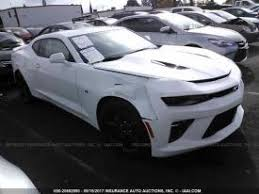 wrecked camaro zl1 for sale salvage chevrolet camaro cars for sale and auction