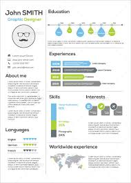 infographic resume template infographic resume template 35 infographic resume templates free