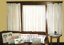 Arts And Crafts Style Curtains Arts And Crafts And Steunk Design Craftsman Style Embroidery