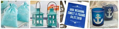 Blue Favors by Blue Wedding Favors Blue Wedding Theme