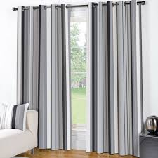 exotic grey and white striped curtain panels panel curtains