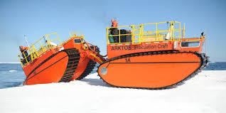 amphibious rescue vehicle home arktos developments ltd