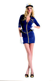 fly me pilot costume by be wicked includes dress and hat white