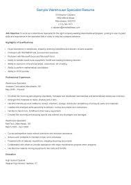 sample resume of warehouse worker picker packer resume resume for your job application sample warehouse specialist resume resume specialist data entry resume samples sample warehouse specialist resume