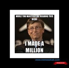 Bill Gates Meme - bill gates meme memesahab com