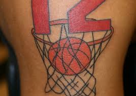33 sporty basketball tattoos for 2013 creativefan