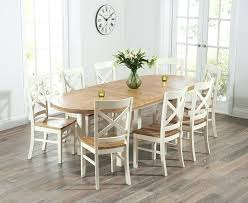 oval dining table for 8 oval dining room tables table for 8 5 little monkeys elegant 3 decor