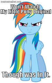 My Little Pony Meme Generator - rainbow dash meme rainbow dash meme generator captionator