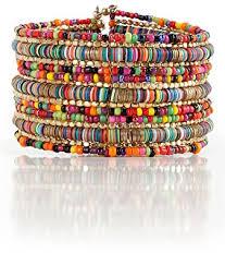 multi colored gold bracelet images Bohemian multi colored sequin gold cuff bracelet jpg