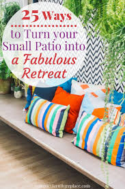 Apartment Patio Ideas 25 Small Patio Ideas To Turn Your Tiny Space Into A Fabulous Retreat