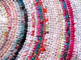 How To Make Braided Rug How To Make A Colourful Crochet Rag Rug With Recycled Fabrics