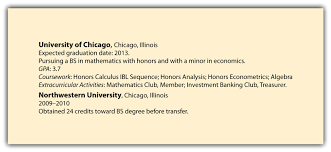 Resume Profile Section Examples by Education Section In Resume Examples Free Resume Example And