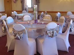 silver chair sashes spandex chair and table covers silver satin table overlays and