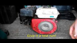 how to start an engine lawnmower without a pull cord youtube