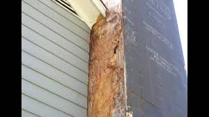 Wood Fireplace Repair Chimney Repair With Low Maintenance Corner Boards And Siding Youtube
