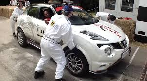 nissan juke rs nismo nissan juke rs nismo sets world record for fastest two wheels mile