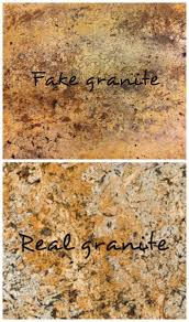How To Paint Faux Granite - faux sho painted granite countertops scharlerama