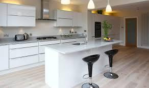 appealing parallel fitted kitchen with white color wooden kitchen baffling small fitted