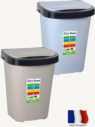 acheter poubelle cuisine poubelle de cuisine city push 40l eda plastiques acheter poubelle